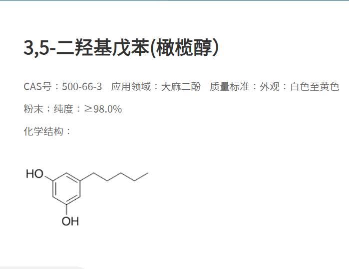 橄榄醇质料药