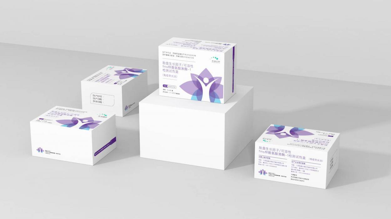 胎盘生长因子/可溶性fms样酪氨酸激酶-1检测试剂盒(免疫荧光法)